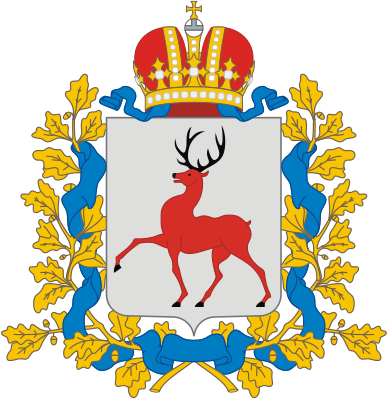 388px Coat of arms of Nizhny Novgorod Region